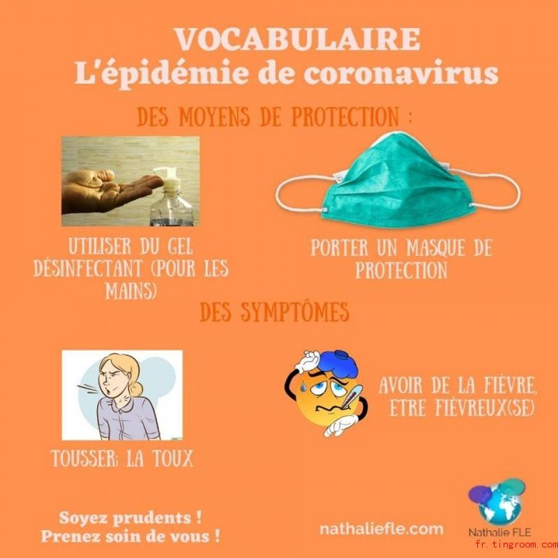 Vocabulaire-L'épidé,ie de coronavirus1