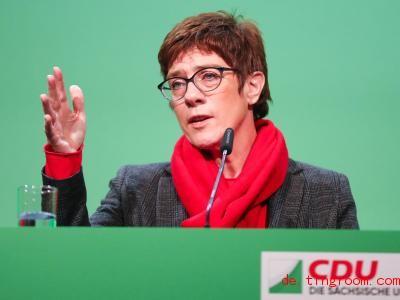 Annegret Kramp-Karrenbauer möchte die Chefin der Partei CDUwerden. Foto:Jan Woitas/dpa