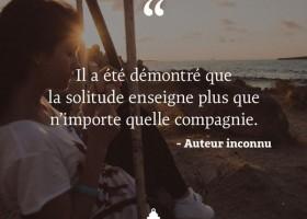 【法语美图美句】La solitude