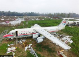 土豪买飞机打算改为酒店和餐厅 What do businessman do with retired airplane?