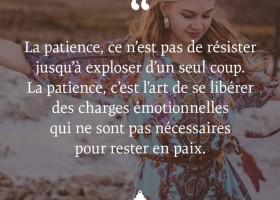 【法语美图美句】La patience