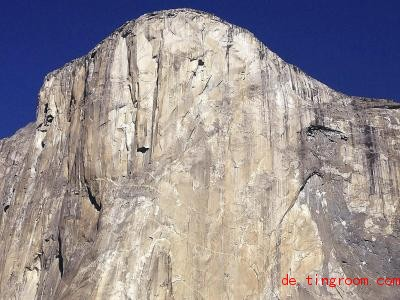 Diese steile Wand ist bei Kletterern beliebt, auch weil sie so schwierig ist. Foto: Ben Margot/AP/dpa