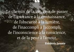 【法语美图美句】Le chemin de la vie