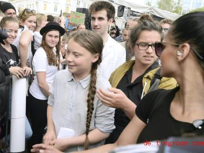 Greta Thunberg will mehr gegen die Klimakrise tun und setzt deshalb ein Jahr mit der Schule aus. Foto: Herbert Pfarrhofer