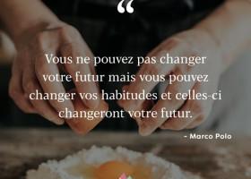 【法语美图美句】vous pouvez changer vos habitudes