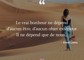 【法语美图美句】Le vrai bonheur