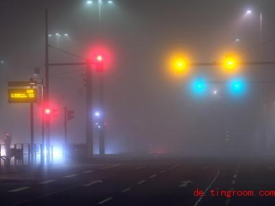 Jetzt im Herbst und im Winter kommt es häufiger zu Nebel. Foto: Sebastian Willnow/dpa-Zentralbild/dpa