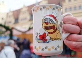 Tassen vom Weihnachtsmarkt