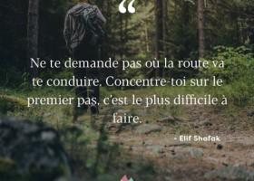 【法语美图美句】Le premier pas