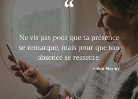 【法语美图美句】Ton absence se ressente