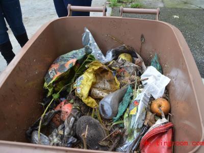 Plastik gehört nicht in die Biotonne. Foto: /AWM/dpa