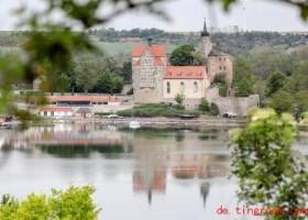 Ein Schloss an einem süßen See