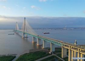 Ponte Shanghai-Suzhou-Nantong abre ao trânsito 上海苏通大桥通车