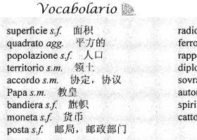 梵蒂冈【生词汇总】