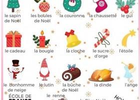 【法语词汇】Noël 圣诞节