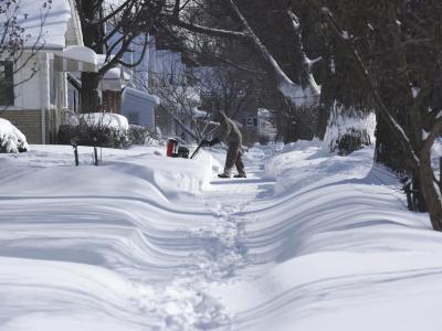 In manchen Teilen der USA hat es ungewöhnlich viel geschneit. Foto: Don Campbell/The Herald-Palladium/AP/dpa