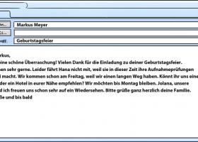 德语课程:庆祝节日2 - 对邀请的答复