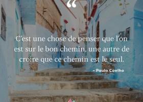 【法语美图美句】Le bon chemin et le seul chemin
