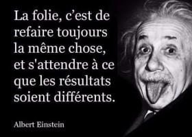 【法语名言】La folie, c'est...