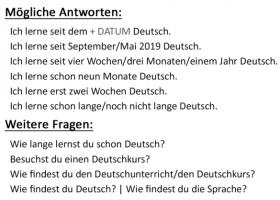 Seit wann lernst du Deutsch? 你什么时候开始学德语的?