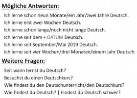 Wie lange lernst du schon Deutsch? 你学德语多久了?