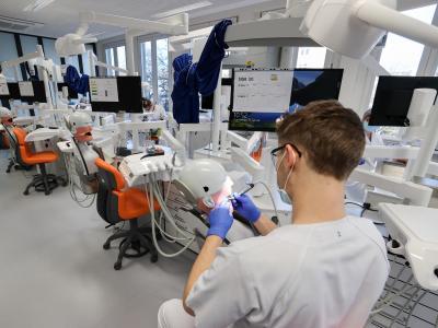 Wer Zahnarzt oder Zahnärztin werden will, sollte auch etwas über die Angst der Patienten wissen. Foto: Jan Woitas/dpa-Zentralbild/dpa