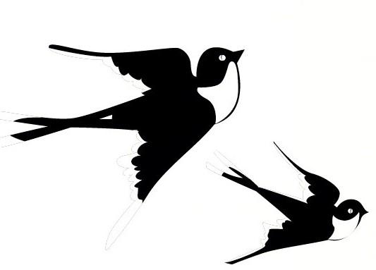 _de l\'hirondelle et des autres oiseaux 燕子和其他鸟儿